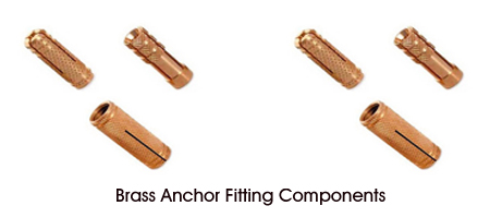 Brass Anchor Fittings Components